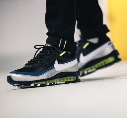 Nike AIR MAX 97 2018 19AW Street Style Leather Sneakers (AO2406 003)