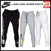 Nike AIR MAX Unisex Sweat Street Style Oversized Bottoms