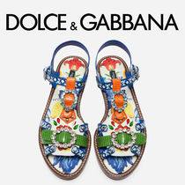Dolce & Gabbana Casual Style With Jewels Sandals