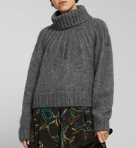 Weekday Cable Knit Casual Style Long Sleeves Turtlenecks