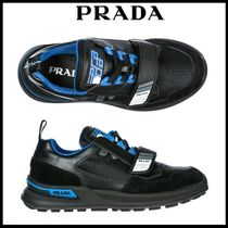 PRADA Unisex Street Style Leather Sport Sandals Sneakers
