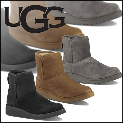 UGG Australia Ankle & Booties Sheepskin Plain Ankle & Booties Boots