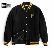 New Era Wool Street Style Varsity Jackets