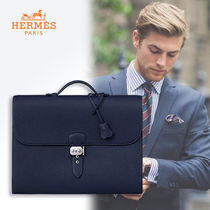 HERMES Leather Business & Briefcases
