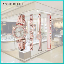Anne Klein Round Quartz Watches Elegant Style Analog Watches