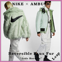 Nike Street Style Collaboration Cashmere & Fur Coats
