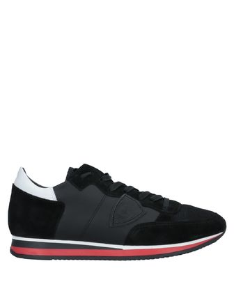 Street Style Leather Sneakers