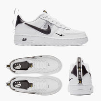 Nike AIR FORCE 1 Leather Low-Top Sneakers