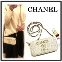CHANEL DEAUVILLE 2WAY Clutches