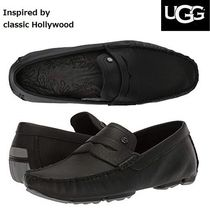UGG Australia Loafers Studded Plain Leather Loafers & Slip-ons