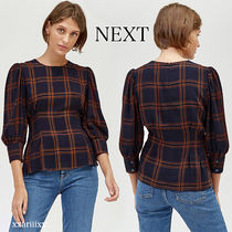 NEXT Other Check Patterns Casual Style Cropped Medium