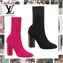 Louis Vuitton Block Heels Ankle & Booties Boots