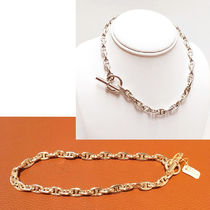 HERMES Chaine dAncre Silver Necklaces & Pendants
