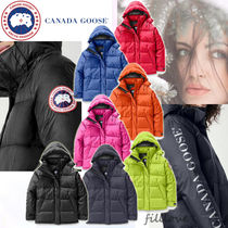 CANADA GOOSE Street Style Plain Down Jackets