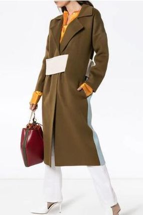 Wool Long Elegant Style Coats