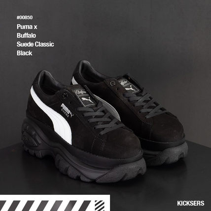 c554297291aa PUMA SUEDE 2018-19AW Platform Street Style Collaboration by KICKSERS ...