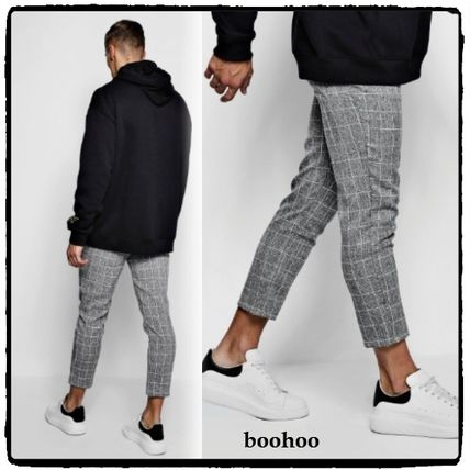 Other Check Patterns Cropped Pants