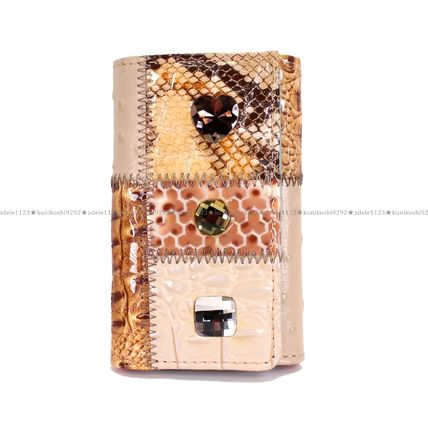 Heart Other Animal Patterns Leather Handmade With Jewels
