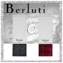 Berluti Crocodile Other Animal Patterns Wallets & Small Goods