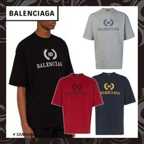 BALENCIAGA Plain Cotton T-Shirts
