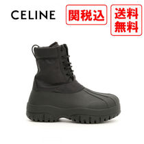 CELINE Casual Style Street Style Boots Boots