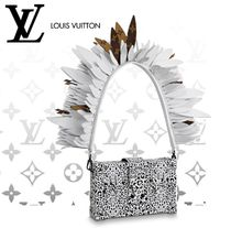 Louis Vuitton PETITE MALLE 2WAY Leather Shoulder Bags