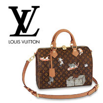 Louis Vuitton MONOGRAM Monogram 2WAY Other Animal Patterns Leather Boston & Duffles