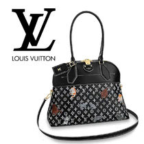 Louis Vuitton MONOGRAM Monogram 2WAY Other Animal Patterns Leather Elegant Style