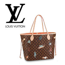 Louis Vuitton Monogram Other Animal Patterns Leather Party Style Handbags