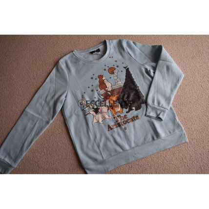 Crew Neck Sweat Collaboration Long Sleeves