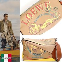LOEWE PUZZLE Calfskin Other Animal Patterns Messenger & Shoulder Bags