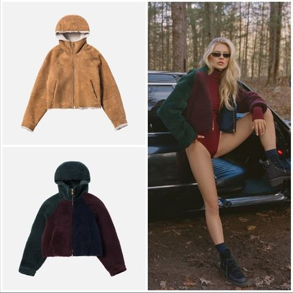 Short Street Style Collaboration Cashmere & Fur Coats