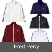 FRED PERRY Street Style Plain Track Jackets
