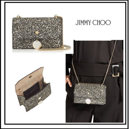 Lambskin Party Style Shoulder Bags