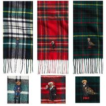 POLO RALPH LAUREN Tartan Wool Scarves