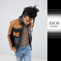 ASOS Blended Fabrics Street Style Leather Biker Jackets