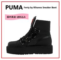 PUMA Unisex Leather Ankle & Booties Boots
