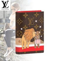 Louis Vuitton MONOGRAM Street Style Passport Cases