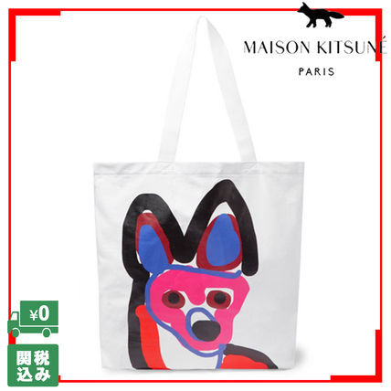Unisex Cambus Street Style A4 Other Animal Patterns Totes