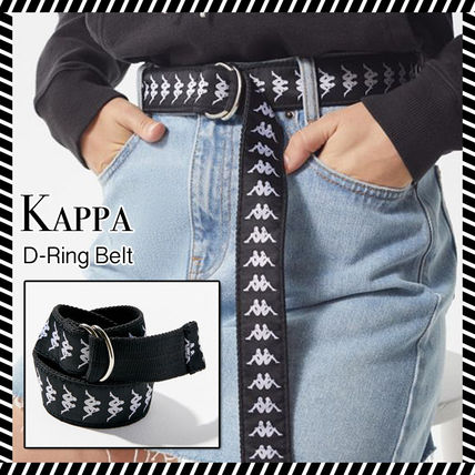 Casual Style Street Style Plain Cotton Belts