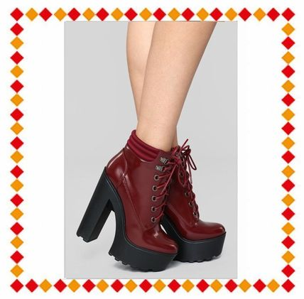 32c1018b6a13 FASHION NOVA Pin Heels Ankle   Booties Boots by Lapislovely - BUYMA