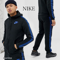 Nike Blended Fabrics Street Style Top-bottom sets
