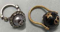 Christian Dior JADIOR Costume Jewelry Casual Style Blended Fabrics With Jewels