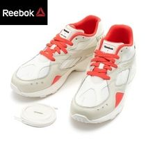 Reebok Casual Style Unisex Collaboration Leather Low-Top Sneakers