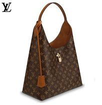 Louis Vuitton Monogram A4 Leather With Jewels Elegant Style Handbags