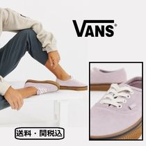 VANS AUTHENTIC Lace-up Casual Style Plain Low-Top Sneakers