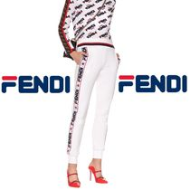 FENDI Monogram Casual Style Unisex Street Style Collaboration