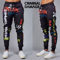 CRIMINAL DAMAGE Street Style Joggers & Sweatpants