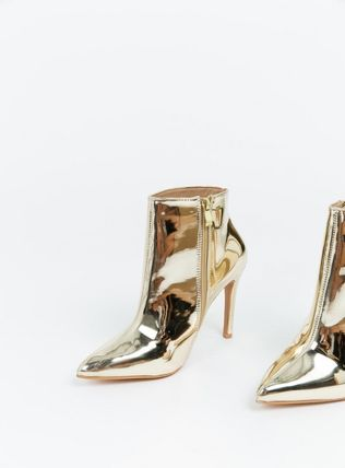 Enamel Pin Heels Party Style Shoes