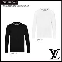 Louis Vuitton Long Sleeves Cotton Long Sleeve T-Shirts